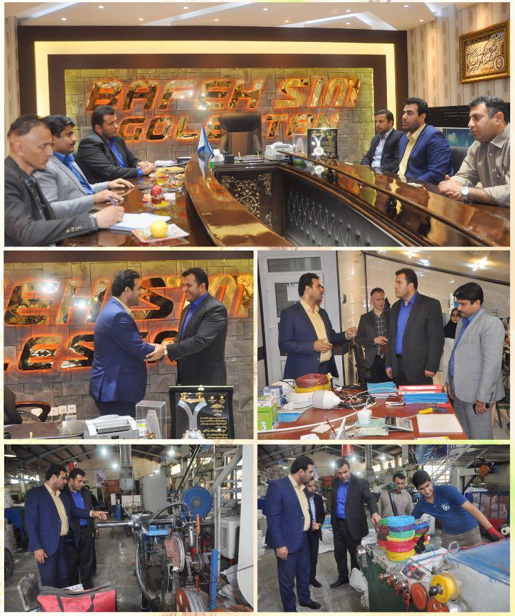 دیدار رئیس دانشگاه آزاد واحد علی آباد کتول از تجهیزات جدید شرکت
